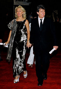 David Foster and wife.