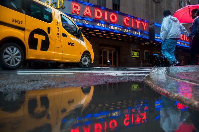 Radio City on a Rainy Day