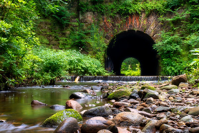 Chinese Tunnel at Livesey, Blackburn, Lancashire, UK