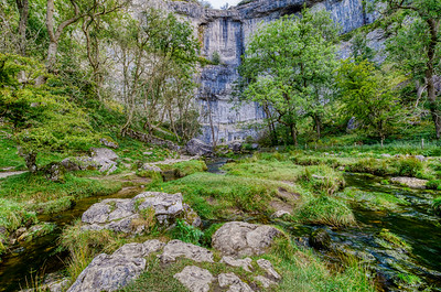 Malham Cove, Skipton, North Yorkshire UK
