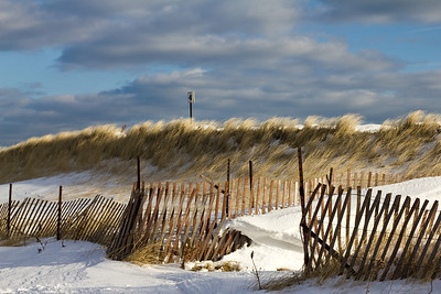 Misquamicut Beach on a chilly December day - Taken by Justin Jarboe in Westerly, RI