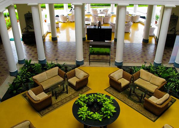 Hotel lobby, India