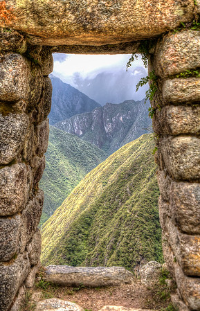 Inca Trail, Winay Wayna, Peru