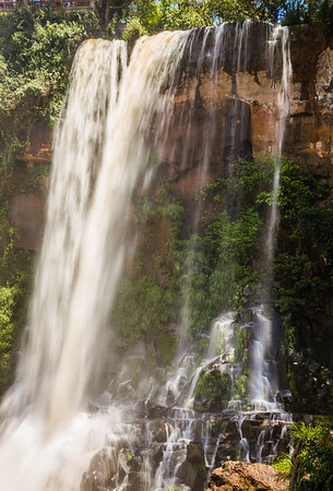 waterfall in Foz de Iguazu, Argentina