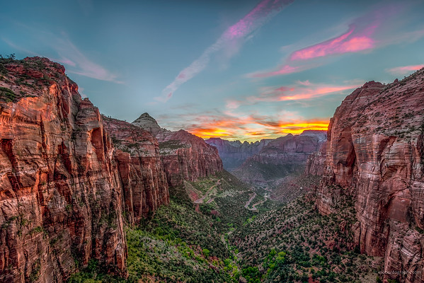 Canyon Overlook in Zion National Park