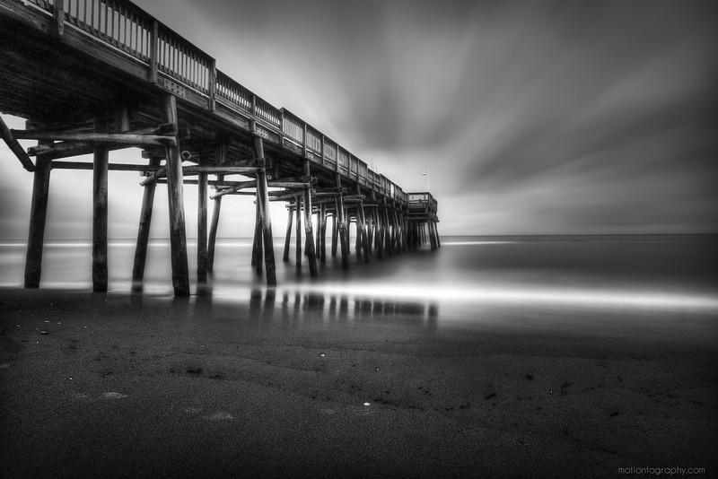 Sandbridge Beach fishing pier