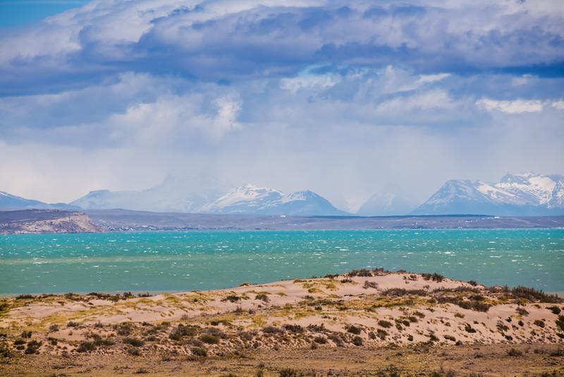 glacier lakes in Patagonia
