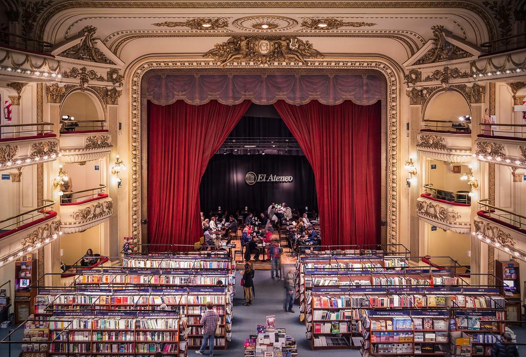 El Ateneo bookstore in Buenos Aires, Argentina