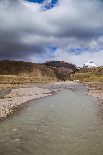 storm clouds in Patagonia