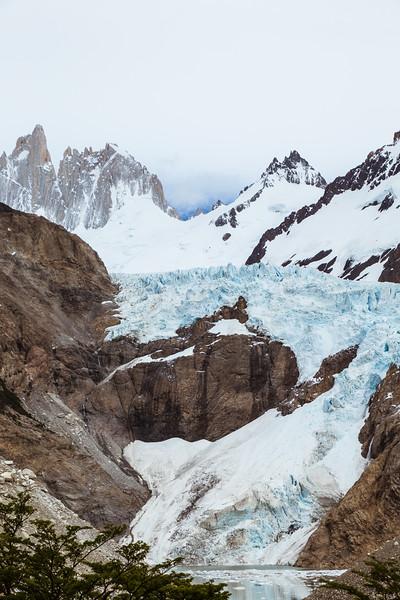 Glacier in Patagonia