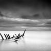 Herring boat remains, Longniddry, East Lothian.