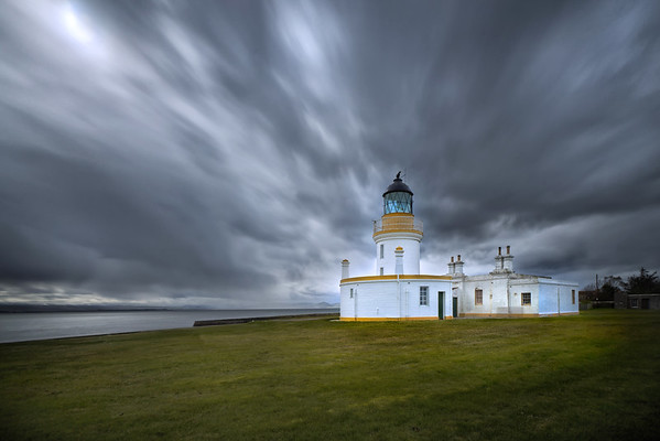 Chanonry Point Lighthouse, Fortrose, Ross-shire.