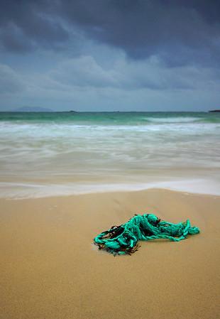 Old rope, Hushinish Beach, Isle of Harris