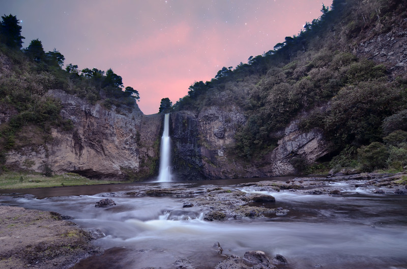 Huana Falls by Starlight