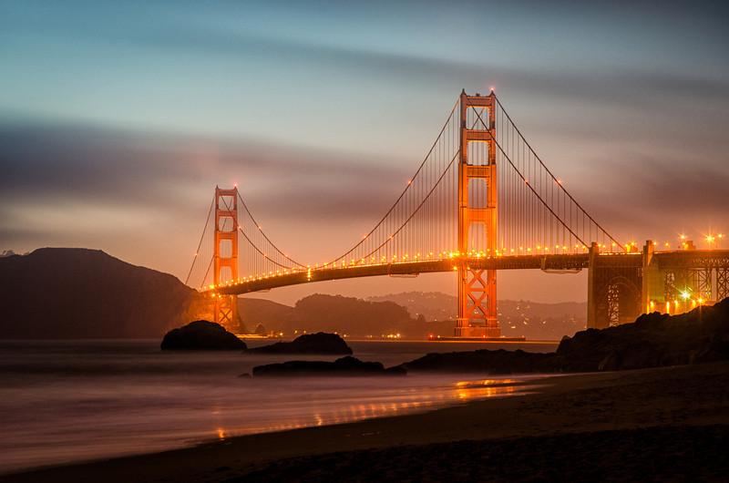Golden Gate at Baker Beach