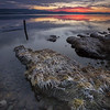 Sunset on the Beauly Firth, Charlestown, North Kessock