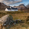 Blackrock Cottage with the Buachaille in the distance  (Landscape)
