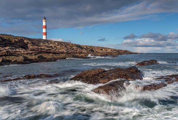 Tarbatness Lighthouse, Portmahomack