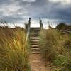 Beach Steps, Findhorn, Moray.