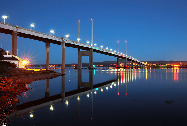 Kessock Bridge Blue Hour