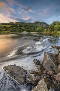 Moy Pool on the River Conon, Marybank, Strathpeffer, Ross-shire