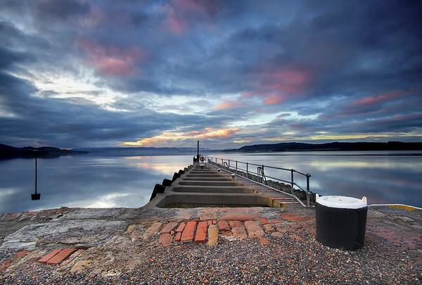 Clachnaharry Sealock Pier, Inverness.