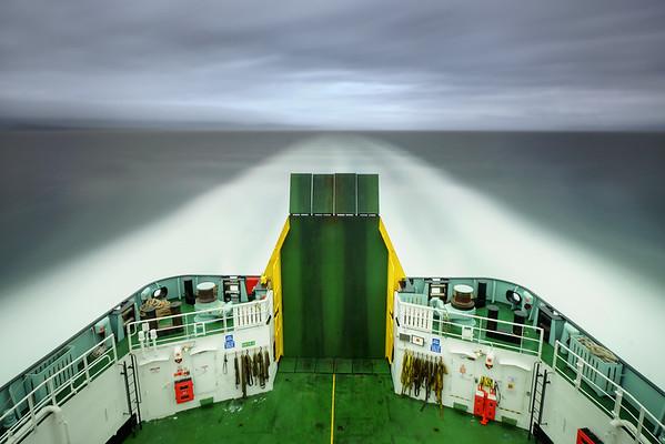 MV Hebrides, Heading for the Isle of Harris