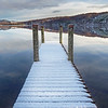 Snow Covered Jetty