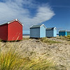 Beach Huts, Findhorn, Moray-shire