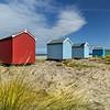 Beach Huts, Findhorn, Moray-shire