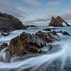 Bow fiddle Rock, Portnockie, Moray, Scotland