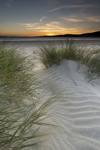 Luskentyre Sunset ( Portrait ). Luskentyre, Isle of Harris