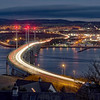 Kessock Bridge Light Trails