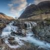 Clachaig Falls, River Coe, Glencoe