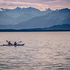 Kayaking Starnberg lake