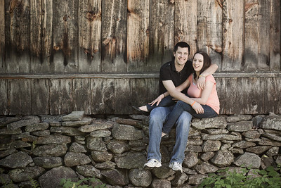 Engagement portrait by Jarboe Doggart Photography taken at Moore State Park in Paxton, MA.