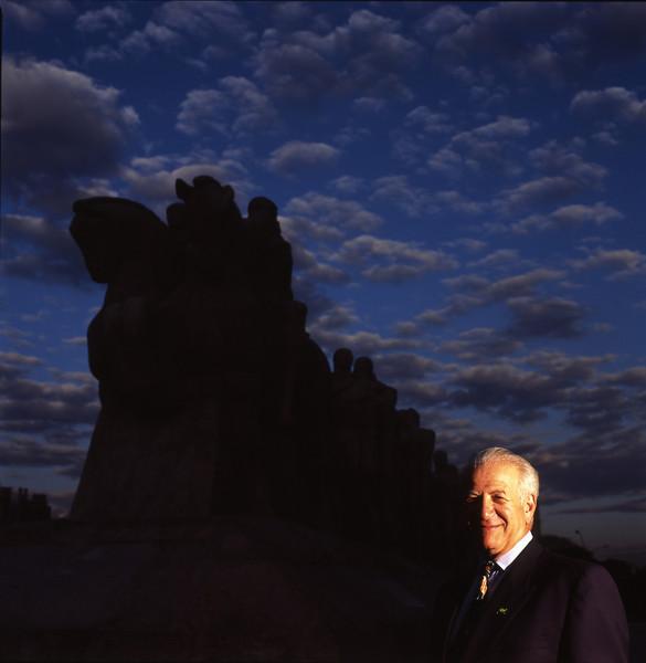 Donald Feinberg, empresário, 2003, São Paulo, Brasil.