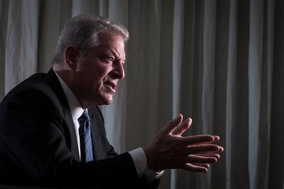Al Gore, ex vice-presidente dos Estados Unidos, São Paulo, 2014, Brasil.