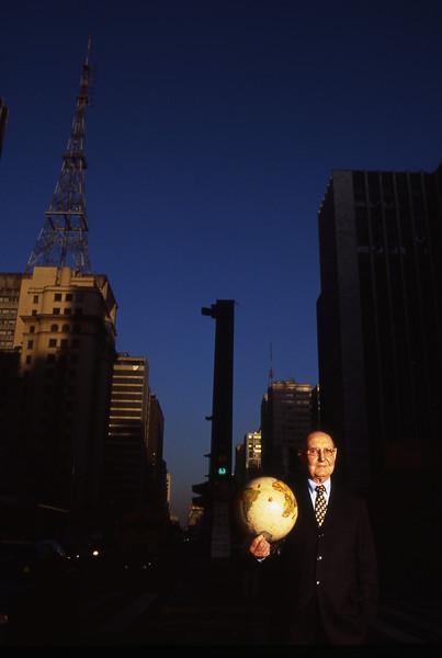 Otacílio Coser, empresário, São Paulo, 2004, Brasil.