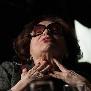 Bibi Ferreira, atriz, cantora, diretora e compositora, São Paulo, 2014, Brasil.