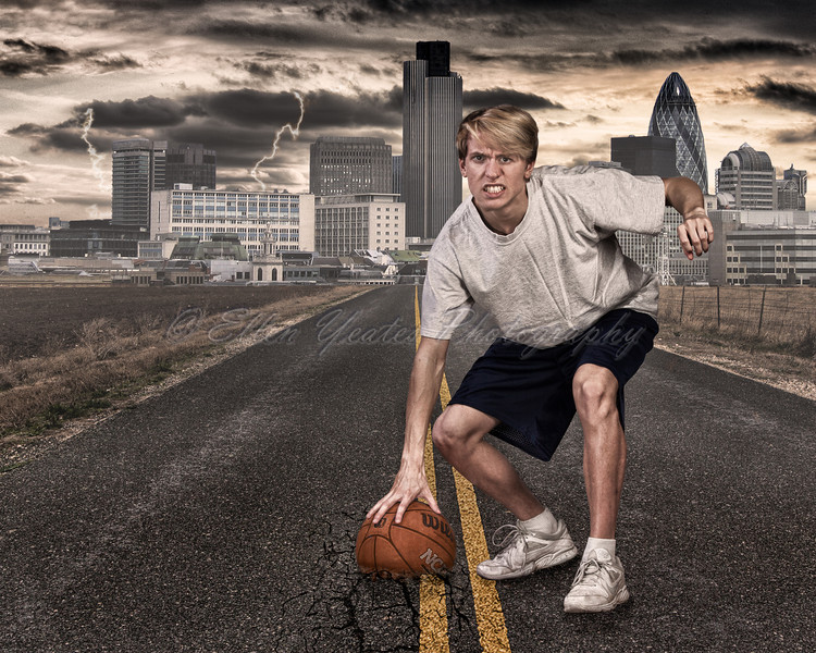 Basketball HDR Composite