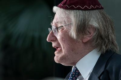 Henry Sobel, rabino, São Paulo, 2014, Brasil.