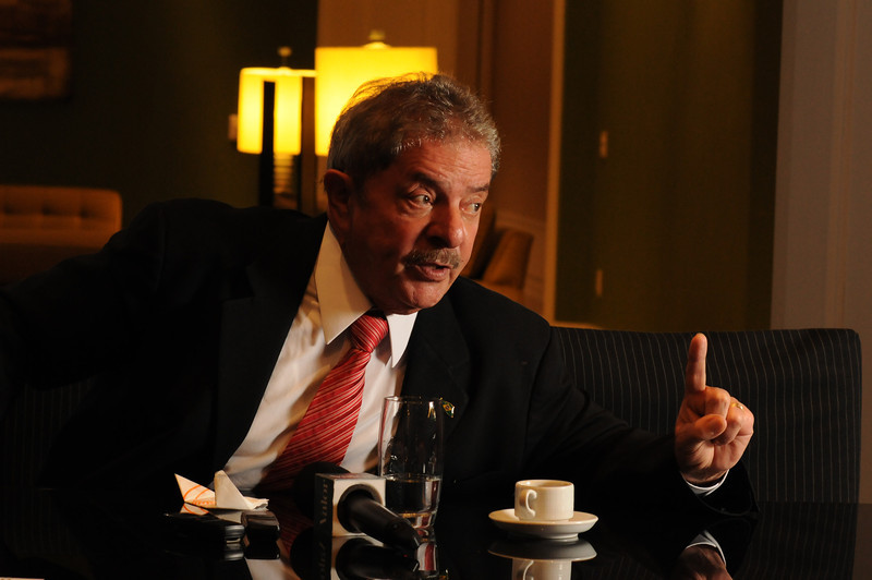 Luiz Inácio Lula da Silva, ex-presidente, São Paulo, 2013, Brasil.