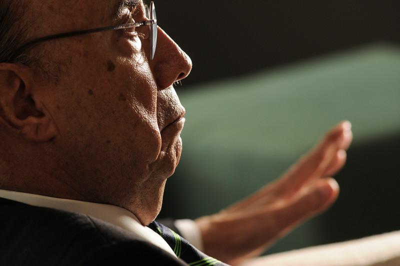 Henrique Meirelles, ex-presidente do Banco Central, São Paulo, 2014.