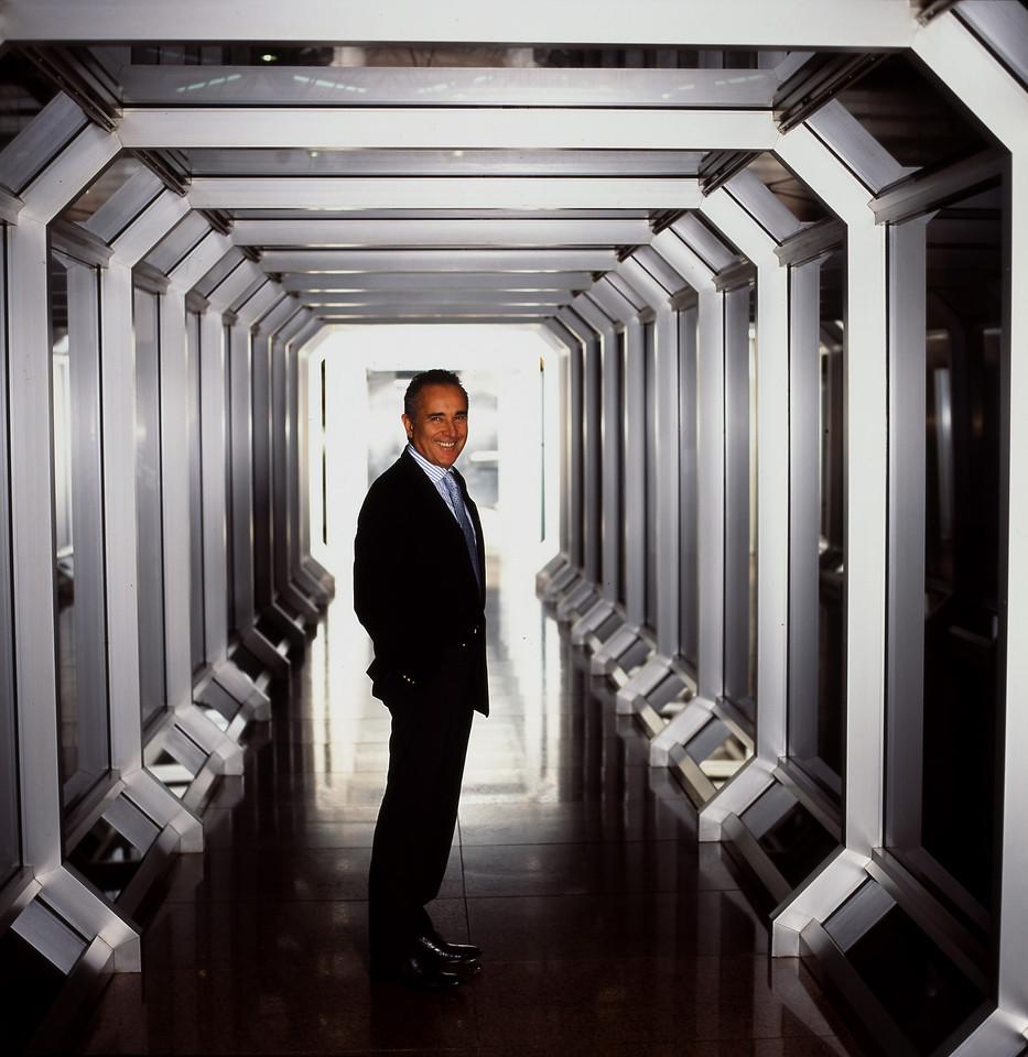 Silvério Bonfiglioli, empresário, 2005, São Paulo, Brasil.