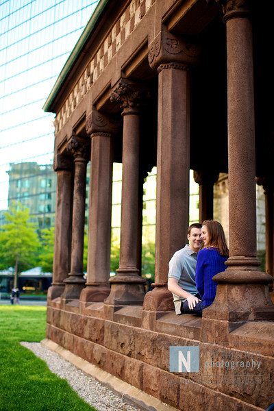 Amanda + Charley's Engagement :: Boston, MA