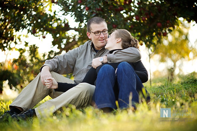 Kelly + Mike's Engagement :: Lyman Orchard :: Middlefield, CT