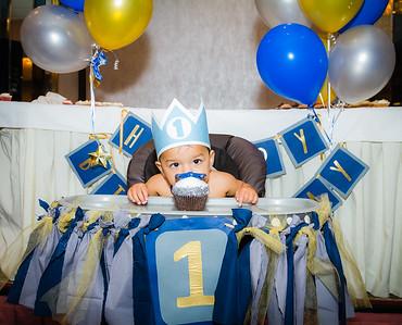 Jacob's Baptism + 1st Birthday Celebration