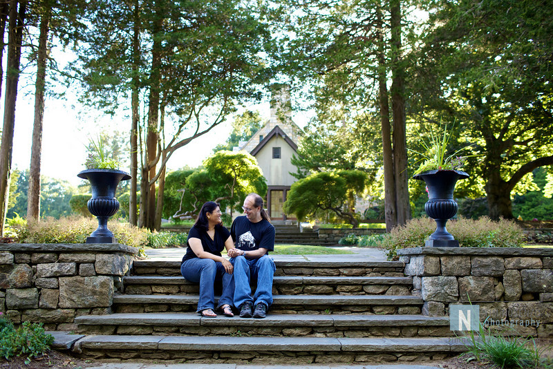 Mona + Mark Engagement :: Cranbury Park :: Norwalk, CT