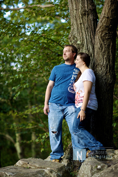 Nicole + Michael's Engagement :: Sleeping Giant Park :: Hamden, CT